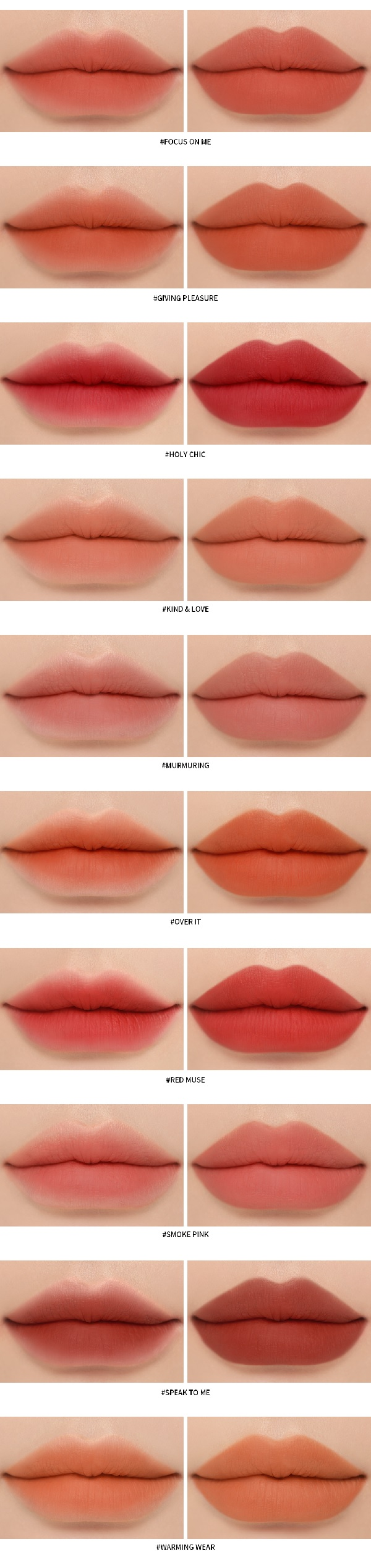 Chất Son Lì 3CE Soft Matte Lipstick 3,5g