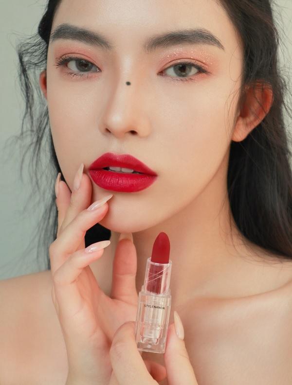 Màu 03 Son Lì 3CE Soft Matte Lipstick 3,5g