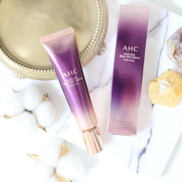 Kem Dưỡng Mắt Cải Thiện Nếp Nhăn AHC Agless Real Eye Cream For Face Season7 12ml