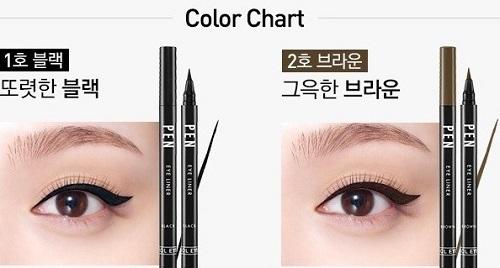 Bút Dạ Kẻ Mắt Aritaum Idol Pen Eyeliner