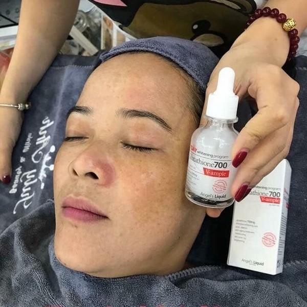 Huyết Thanh Trắng Da 7Day Whitening Program Glutathione 700 V-Ample