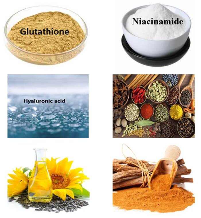 Thành phần chính của Bộ dưỡng trắng da Angel's Liquid 7Day Whitening Program Glutathione Special Kit