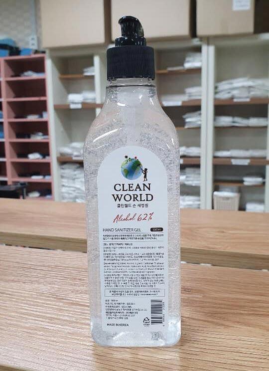 Công dụng Nước Rửa Tay Khô Diệt Khuẩn Clean World 500ml