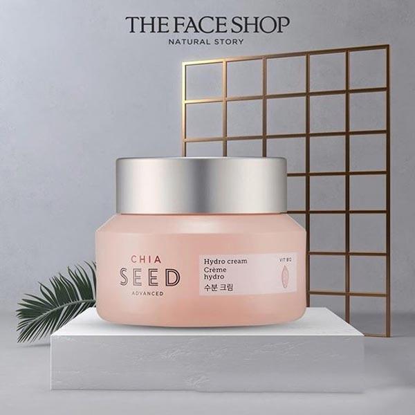 3/ Kem Dưỡng Ẩm Trắng Mịn Da The Face Shop Chia Seed Advance Hydro Cream 50ml