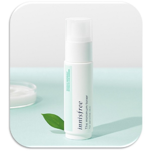 Nước hoa hồng dành cho da nhạy cảm Innisfree The Minimum Toner For Sensitive Skin 45ml