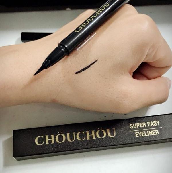 Bút Kẻ Mắt Siêu Mảnh Bền Màu ChouChou Super Easy Eyeliner 0.5g