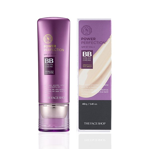 Kem Nền Đa Năng The Face Shop BB Cream Power Perfection SPF37 PA++ 40g