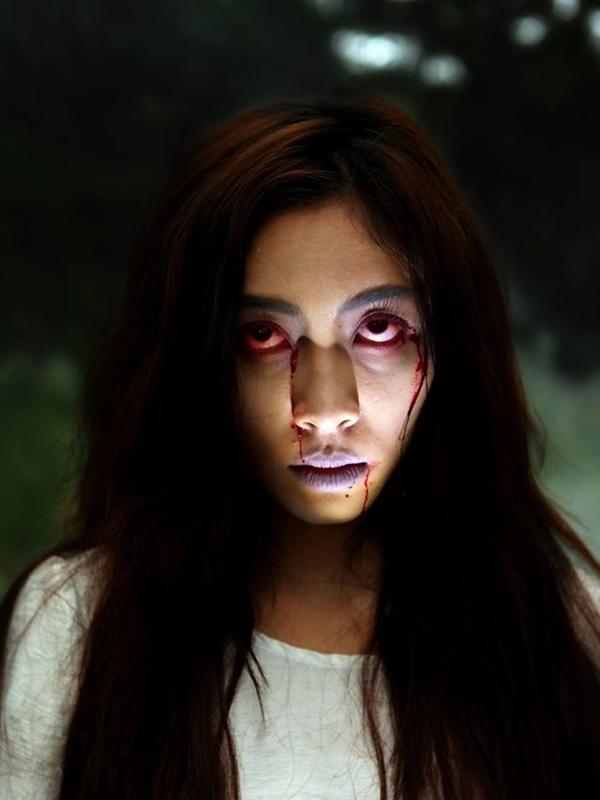 Ma nữ Ý Tưởng Trang Điểm Halloween Rùng Rợn Nhất Năm 2019