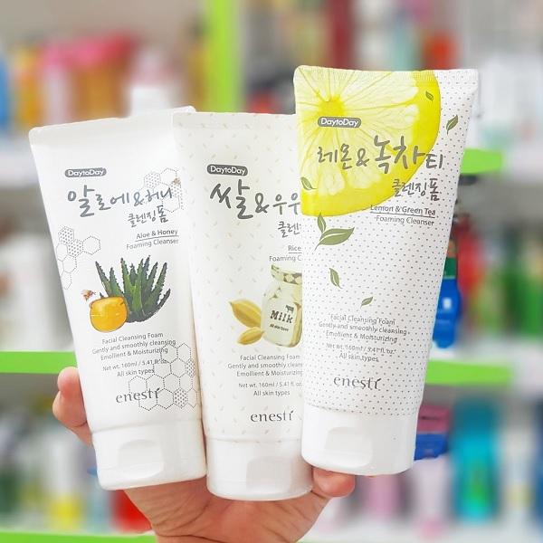 Sữa rửa mặt Enesti, thương hiệu mỹ phẩm Hàn Quốc dự đoán sẽ No 1 ngạch mỹ phẩm giá rẻ