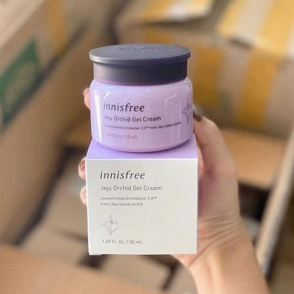 Innisfree Jeju Orchid Gel Cream 50ml – Giúp da sáng và cải thiện những nếp nhăn hiệu quả.