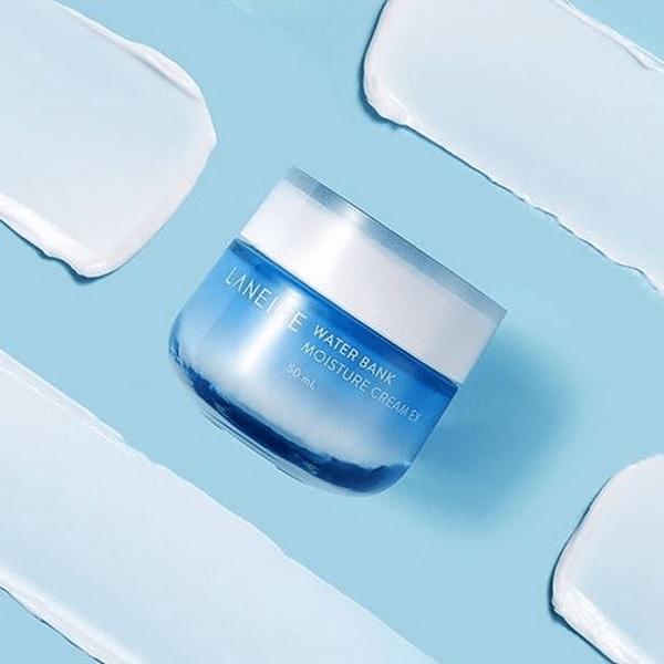 Laneige Water Bank Moisture Cream EX 50ml – Mang đến lượng ẩm dồi dào từ nước khoáng xanh