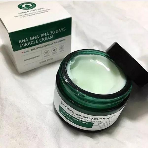 AHA-BHA-PHA 30 Days Miracle Cream 50ml – Sản phẩm trị mụn thần thánh nhà Some By Mi