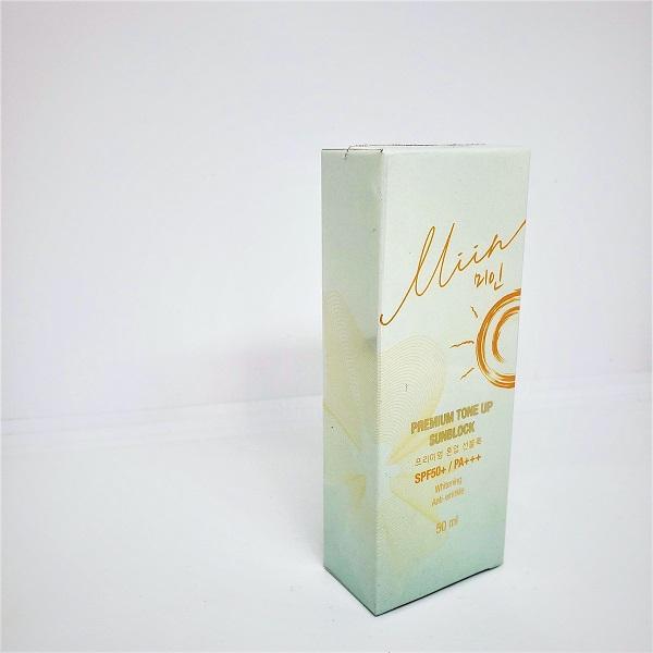 Review thành phần Kem Chống NắngNâng Tông Da Tự Nhiên Miin Premium Tone UpSunblock