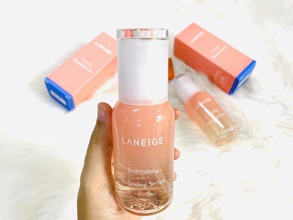 Tinh chất Laneige Fresh Calming Balancing Serum 80ml – Đẳng cấp Laneige có khác!