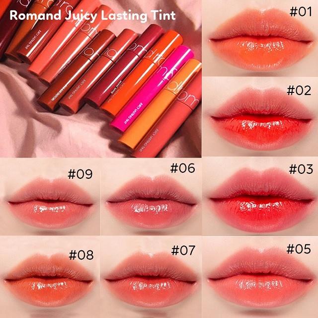 Son tint lì Romand Juicy Lasting Tint 5,5g