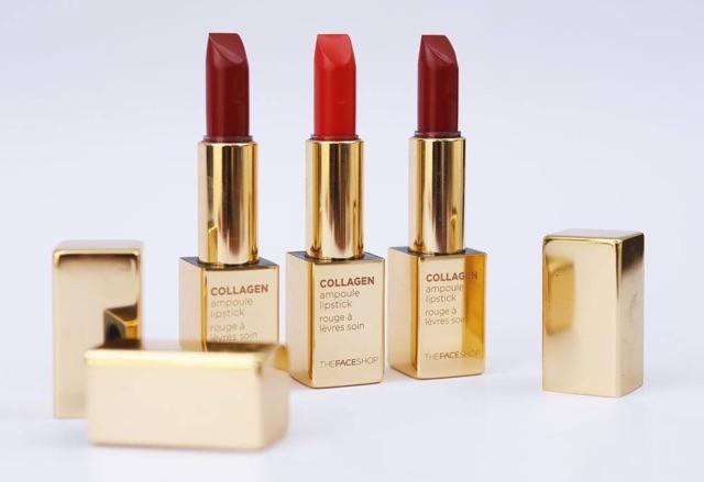 Thiết kế Son Thỏi Collagen The Face Shop Collagen Ampoule Lipstick 3,5g