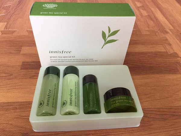 Bộ Kit Innisfree Trà Xanh Green Tea Special Kit Set