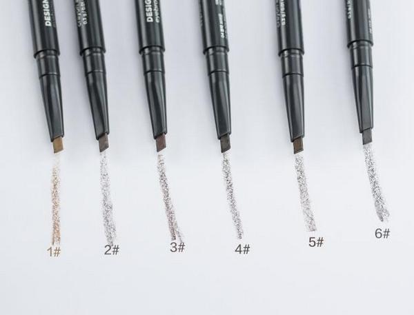 chì kẻ mày 2 đầu  the face shop designing eyebrow pencil review