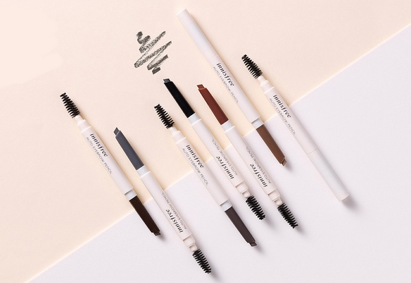 Chì Kẻ Mày Innisfree Auto Eyebrow Pencil Review