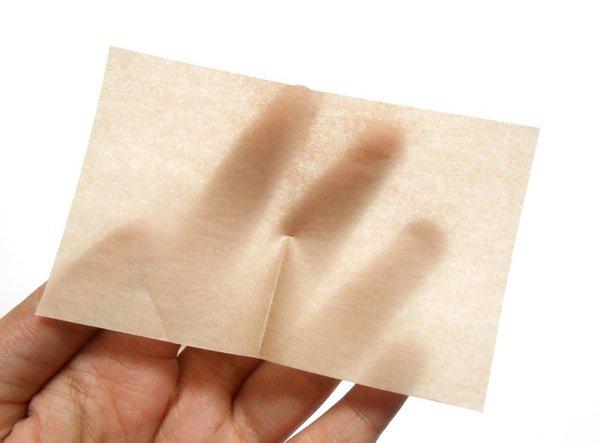 Nhận biết da hỗn hợp qua giấy thấm dầu