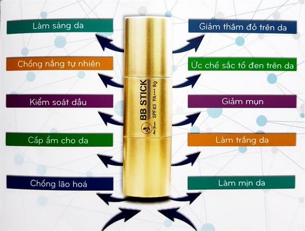 Kem Nền Mini Garden BB Stick SPF 43 PA+++ (Quỳnh Kool Review)