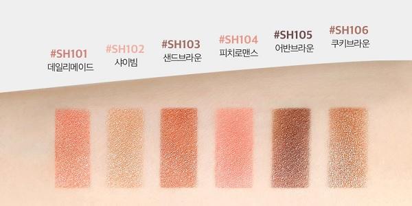 Bảng màu phấn mắt Lime – Thương hiệu mỹ phẩm mới nổi đến từ Hàn Quốc