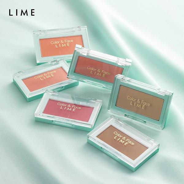 Phấn má hồng Lime – Thương hiệu mỹ phẩm mới nổi đến từ Hàn Quốc