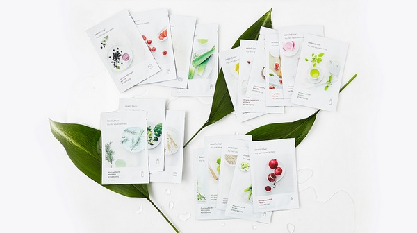 mặt nạ giấy innisfree my real squeeze mask review