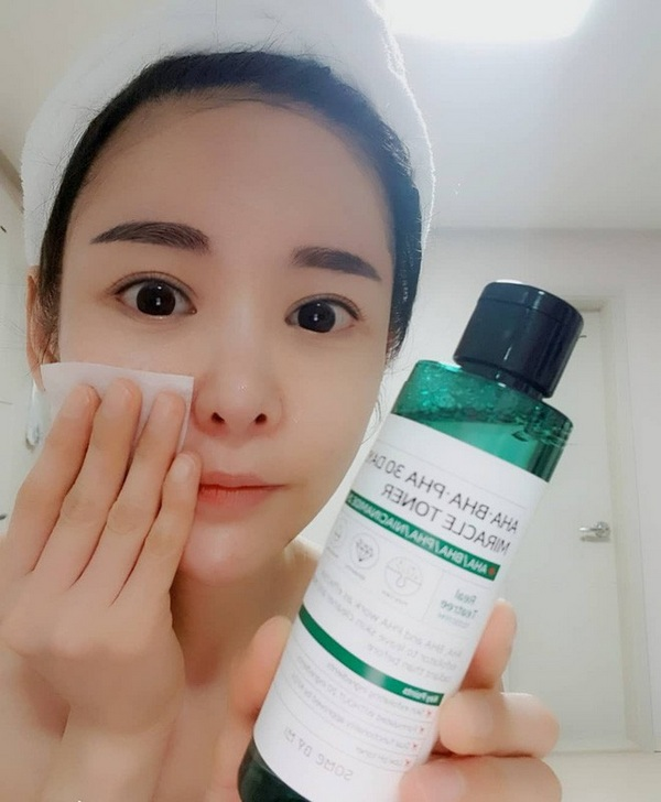 nước hoa hồng some by mi aha bha pha 30 days miracle toner review