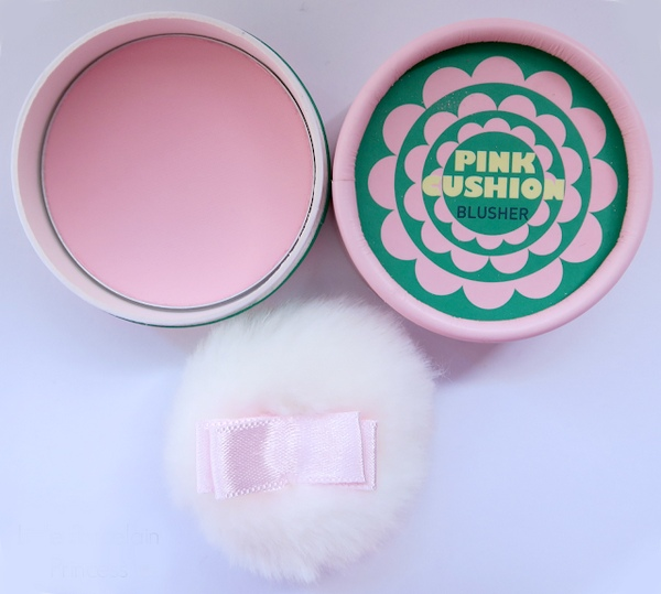 phấn má hồng the face shop lovely meex cushion blusher review