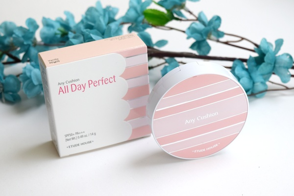 phấn nước etude house any cushion all day perfect spf50 pa+++ review