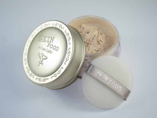 Review Phấn Phủ Skinfood Buckwheat Loose Powder