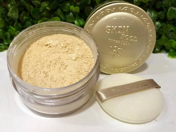 Review Phấn Phủ Skinfood Buckwheat Loose Powder