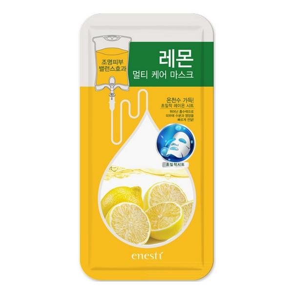 Mặt Nạ Chanh Giảm Mụn Và Kiểm Soát Nhờn Enesti Lemon Multi Care Mask