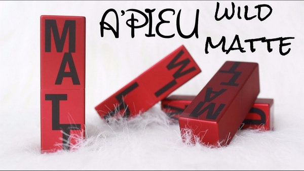 review son apieu wild matt lipstick