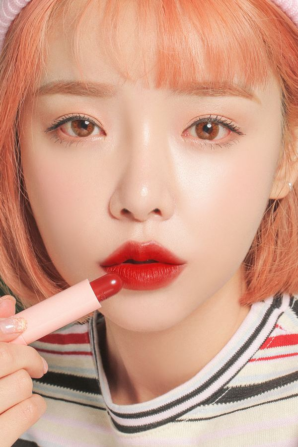 review son love 3ce velvet lip stick dạng thỏi siêu đẹp
