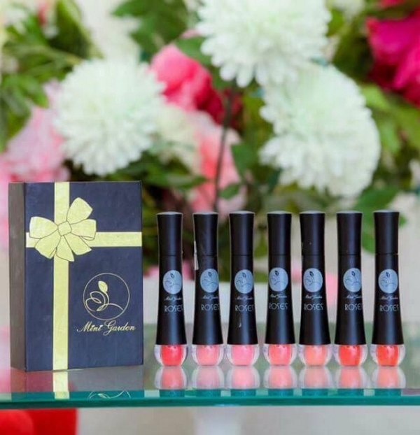 Review Son Rose Mini Garden Matte Roses Lipstick