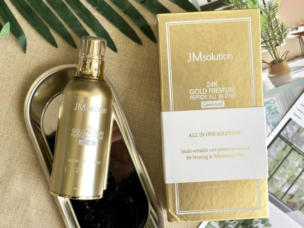 Review Tinh Chất JM Solution 24K Gold Premium Peptide All In One Special