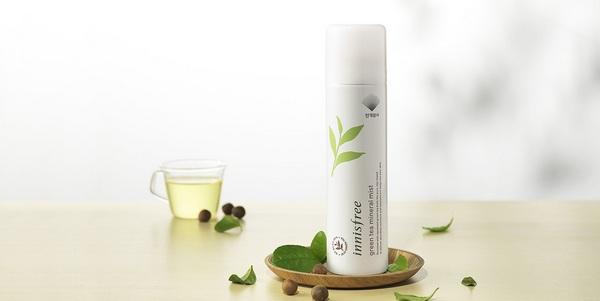 Review Xịt Khoáng Innisfree Green Tea Mineral Mist