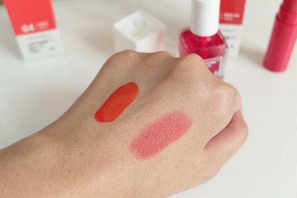 son tint tonymoly liptone get it tint lipsticks review