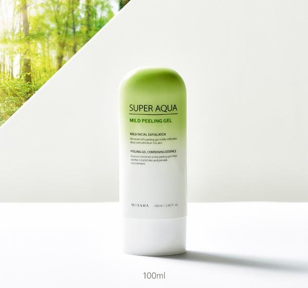 Tẩy Da Chết Missh Super Aqua Mild Peeling Gel Review