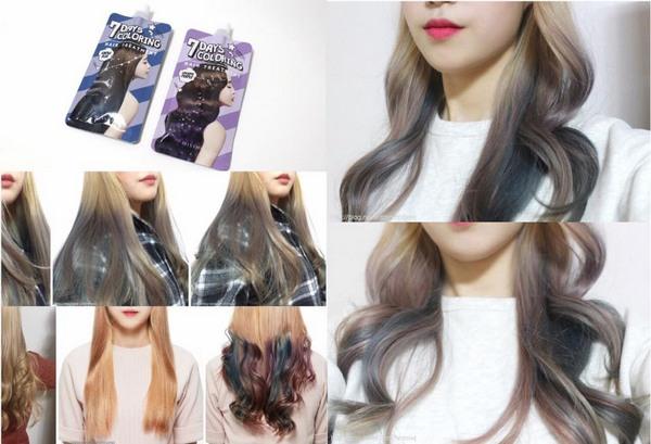 Thuốc Nhuộm Tóc 7 ngày Missha 7 Day Coloring Hair Treatment Review
