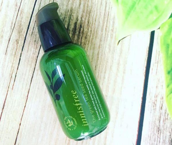 tinh chất trà xanh innisfree the green tea seed serum review