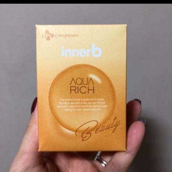 Viên Uống Cấp Nước Và Bổ Sung Collagen Cheiljedang Innerb Aqua Rich