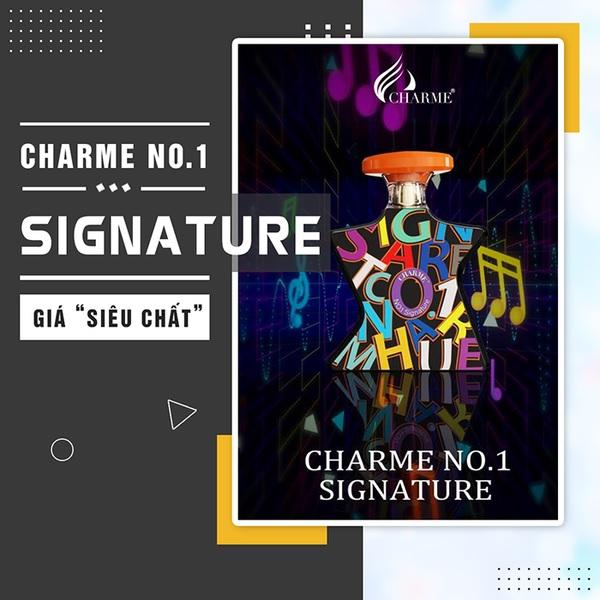 Nước hoa Charme No.1 Signature 100ml