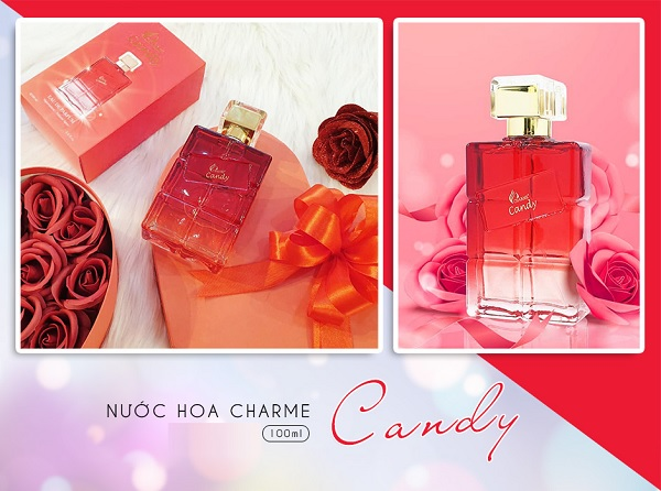 Mùi hương Nước hoa nữ Charme Candy 100ml