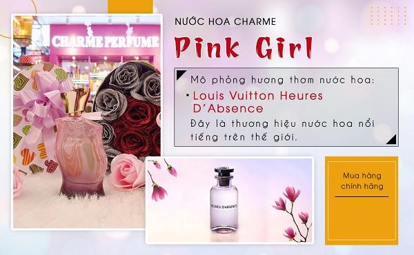 Mùi hương  Nước hoa nữ Charme Pink Girl 75ml