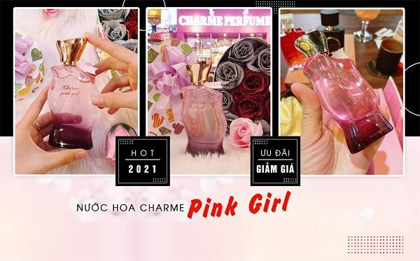 giới thiệu  Nước hoa nữ Charme Pink Girl 75ml