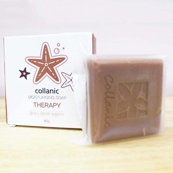 Bánh Xà Phòng Cung Cấp Collagen Cho Da Chiết Xuất Từ Sao Biển Amur Collanic Moisturising Soap Therapy 80g