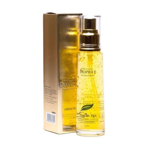 Hình ảnh thực tế Serum Tinh Chất Vàng Deoproce Premium Vita Gold Essence 50ml